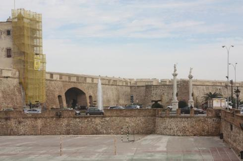 The Old Walls - Cadiz Spain - October 2012