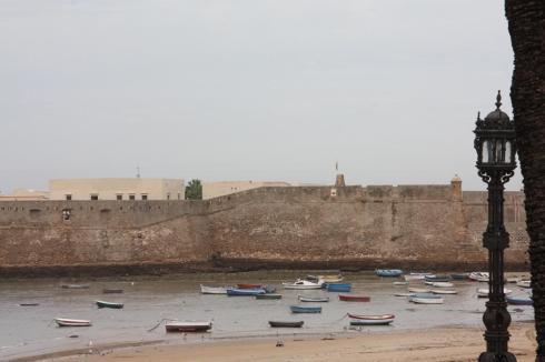 Ancient Walls of Old Cadiz - October 2012