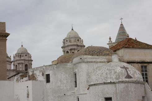 Part of Old Town Cadiz