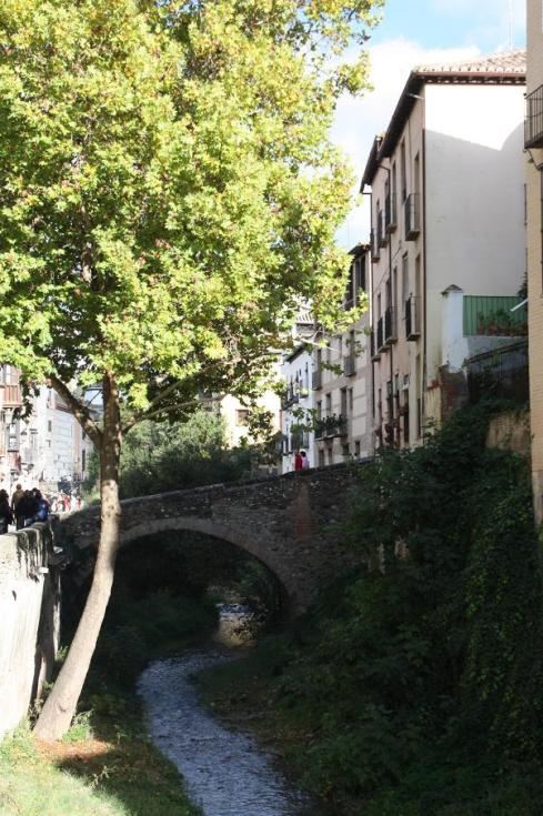 A bridge in Old Granada