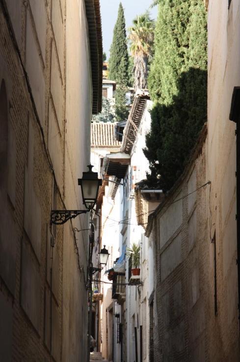 Side Streets in Granada Spain