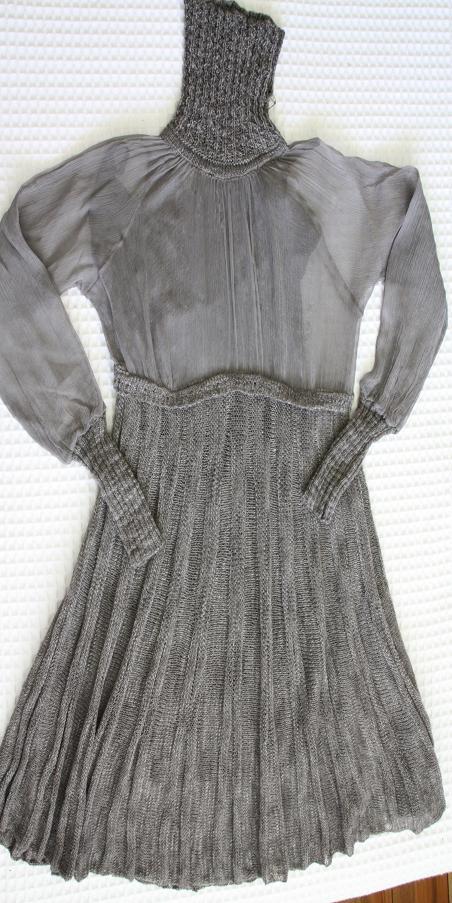 Madrid purchase - Sita Murt - chiffon and knit dress