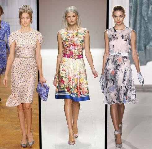 Ladylike Floral Dresses