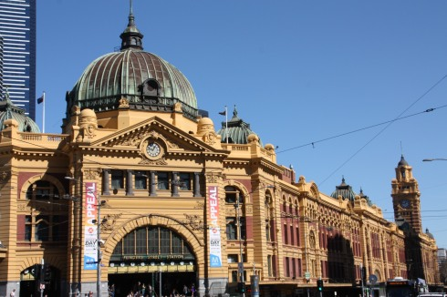 Train Station Melbourne