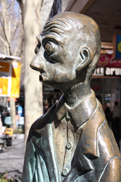 Business Man Sculpture - Melbourne