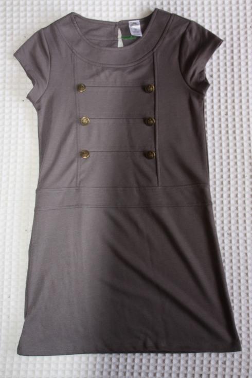 Gray Military Style Shirt