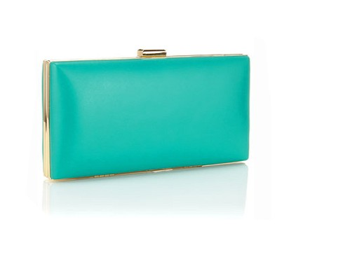 Monsoon Accessorize Mint Clutch