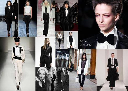 How to Wear the Tuxedo Trend