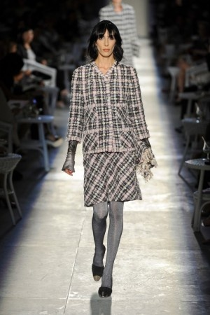 Chanel Suit - Pink, gray and black