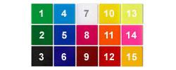 15 Colours!
