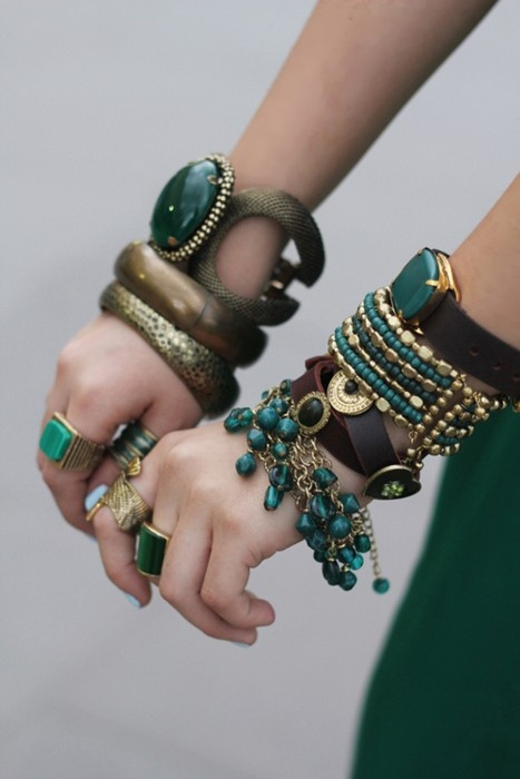 More Green Dream Arm Candy