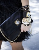 Black and Gold Accessories