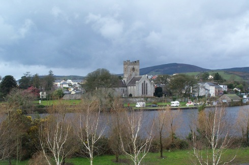 Across the Shannon to Killaloe