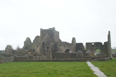 Hore Abbey near the Rock of Cashel