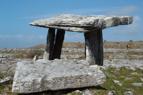 Dolmen in the Barren