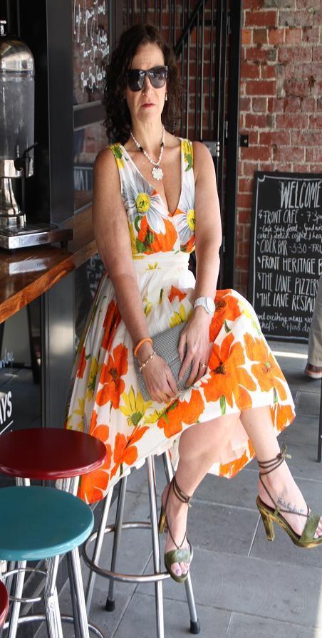 Full-skirted Dress - Spring Summer