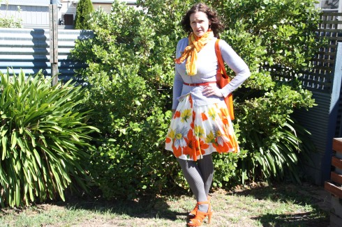 Full-skirted Classic works the winter look