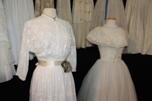 Lovely vintage wedding dresses