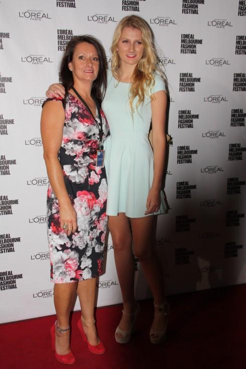 Sharon and Sheridan at LMFF Runway 3
