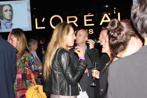 L'Oreal Paris VIP room at LMFF