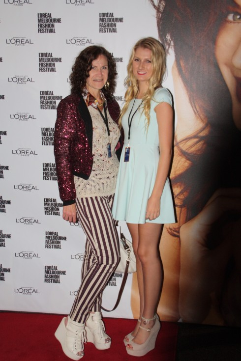 Me and Sheridan at LMFF
