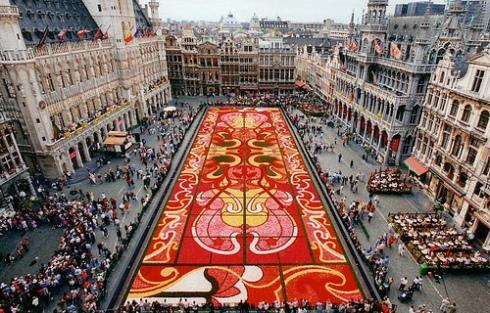 Floral Carpet in Brussels