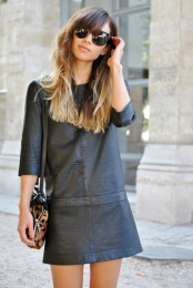 3/4 Length sleeve - Shift Dress