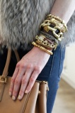 Gold Link Arm Candy