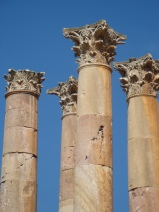 The Sky in Jerash Jordan