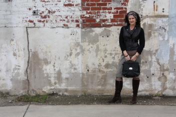 Wardrobe Essentials - Pencil Skirt and Leather Jacket