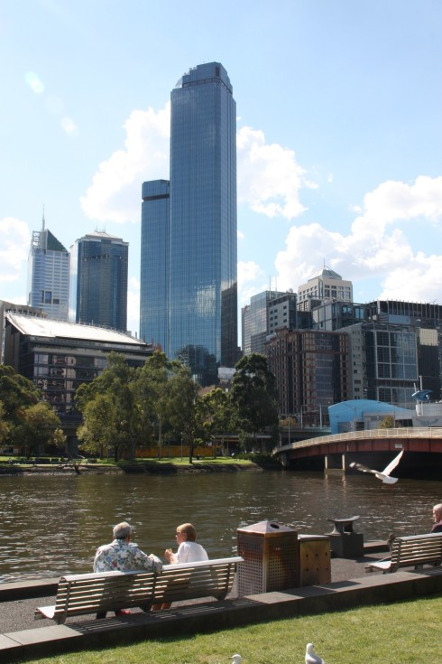 River walk at Southbank
