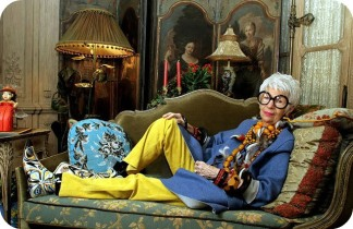 Relaxed Style - Iris Apfel