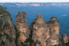 Three Sisters at the Great Dividing Range