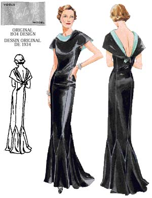 Art Deco Dress Design