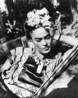 Frida Kahlo - Love this picture of her