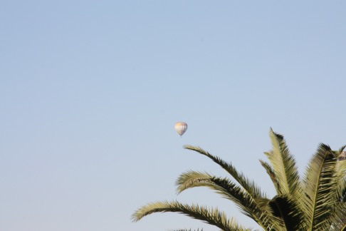 """Balloon """"Flight"""" over the Valley of the Kings"""