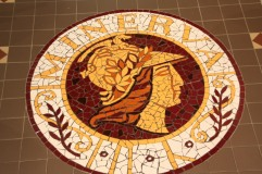 Mosaic Floor at the Mechanics Institute - Ballarat
