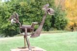 Unique Garden Sculpture at Ercildoune