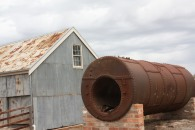 Old Boiler near Shearing Shed