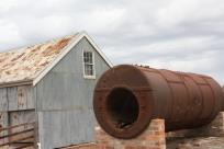 Old Boiler near Shearing Shed