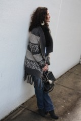 Wearing Warm Layers