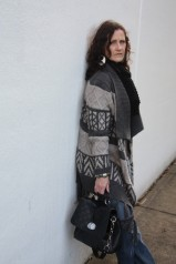 Tribal Inspired Long Cardigan